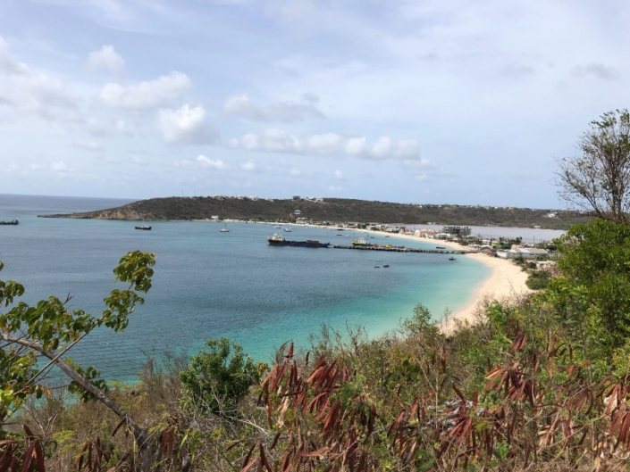 Anguilla Dock in Road Bay